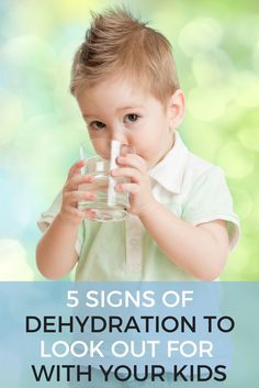 5 Signs of Dehydration to Look Out For With Your Kids, Mom tips