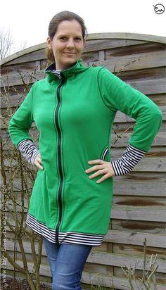 Schnittmuster / Ebook lillesol women No.2 Freizeitjacke / Nähen Jacke Damen/ sewing pattern Jersey leisure jacket