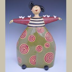 Anne Klocko Ceramic Sculpture Chorus Call