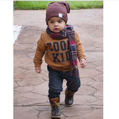 The most lovely seeking little one boy dress, see all of the facts like pajamas, human body matches, bibs, and a lot more. Toddler Boy Fashion, Little Boy Fashion, Toddler Boy Outfits, Toddler Boys, Boys Winter Clothes, Trendy Baby Clothes, Outfits Niños, Kids Outfits, Baby Boy Swag
