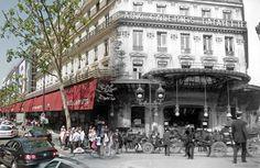 Les Galeries Lafayette, dans le 9ème arrondissement (Crédit Image : Golem 13)