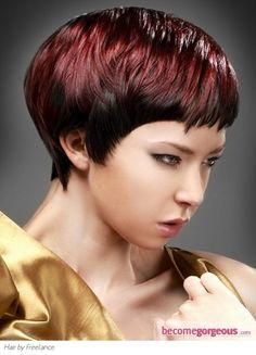 magenta . next hair color