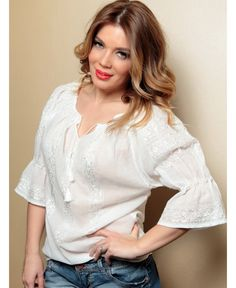 . Ruffle Blouse, Tops, Women, Fashion, Moda, Fashion Styles, Fashion Illustrations, Woman