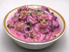 Uhorkový šalát s cviklou v jogurte • Recept   svetvomne.sk