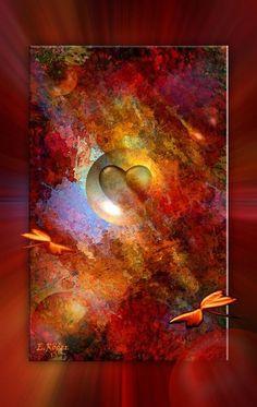 'LOVE' von Eckhard Röder bei artflakes.com als Poster oder Kunstdruck $19.41 Love, Poster, Painting, Art Print, Printing, Canvas, Photo Illustration, Amor, Painting Art