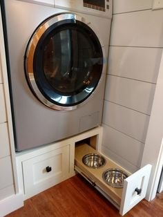 double washer dryer one set for regular clothing one set for muddy gardening clothes sons hubbys yucky sports clothing pinterest more - Tiny House Washer Dryer 2