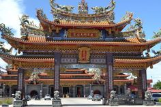 Matsu Temple near Tainan, Taiwan
