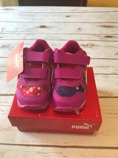 PUMA shoes Size US-5C.ST Runner NL Lights V Inf. Ultra Magenta 4bf1ac9ac5d72