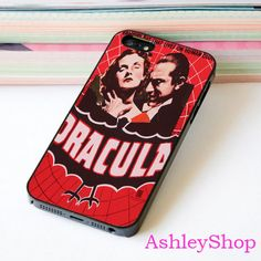 Dracula Horror Movie Custom Case For iPhone 4/4s/5s/5c/6/6+/S3/S4/S5/S6 - Default iPhone 5/5s Case