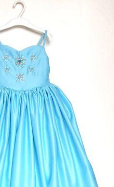 Congelati vestire Elsa Dress Maxi Dress Elsa compleanno di WELOKI