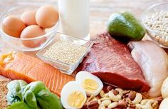 Protein is a essential body requirement of everyone. We should enough protein in our diet. Here is the sign of not eating enough protein. High Protein Recipes, Diet Recipes, Healthy Recipes, Protein Bread, Protein Foods, Hair Protein, Protein Sources, Healthy Protein, High Fat Diet