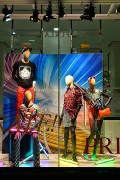 Hudson Bay Celebrate Pride (World Pride Toronto 2014) #mannequins collection #UrbanVintage #Cofrad