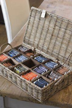 Smart ~ Tea Storage ~ Clever Solution!