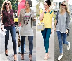 Jeggings Outfit Ideas Pictures how to wear jeggings Jeggings Outfit Ideas. Here is Jeggings Outfit Ideas Pictures for you. Jeggings Outfit Ideas 6 ways to style jeggings with tops the good look book. Grey Leggings Outfit, Baby Girl Leggings, Toddler Leggings, Road Trip Outfit, Weekend Outfit, Fall Blazer, Long Tunic Tops, Fall Outfits For Work, Toddler Outfits
