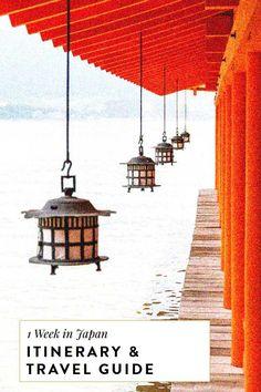 7 day japan itinerar