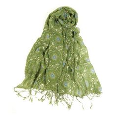 Bring a chic finishing touch to your ensemble with this lovely scarf.  Product: ScarfConstruction Material: Polyester...