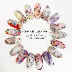 .アートセミナーA部...|ネイルデザインを探すならネイル数No.1のネイルブック Japan Nail Art, Kawaii Nail Art, Cherry Blossom Nails, Best Nail Salon, Special Nails, Super Cute Nails, Wedding Nails Design, Japanese Nails, Nail Patterns