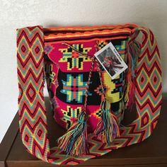 Wayuu Mochila Bag by ColTotes on Etsy