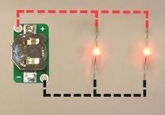 How to Make a Basic E-Textile LED Circuit | Kitronik