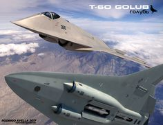 Russian sixth-generation concept fighter aircraft