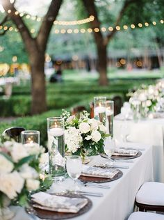 A Summer Floral Garden Party Wedding at Marie Gabrielle in Dallas Garden Party Wedding, Summer Wedding, Rehearsal Dinners, Wedding Centerpieces, Tablescapes, Dallas, Table Decorations, Floral, Weddings