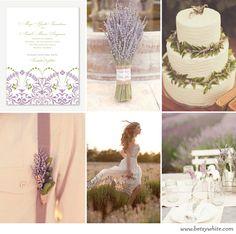Inspiration: Lush Lavender | featured invitation: 'Joy' by Betsywhite Stationery (visit blog for all image sources) #weddinginvitations