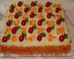 bolo de camadas salgado - Pesquisa Google
