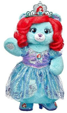 c3cffd83bc0 Little Mermaid | Limited Edition Ariel Bear | Build a Bear | Disney  Princess | Den