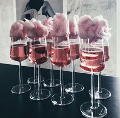Cotton candy drinks