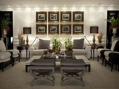 Easy living room decor ideas - Are you preparing to spruce up your living room with some amazing decorations? With these lovely living room designs, there is a room for everybody. Click the link for more info. Living Room Interior, Home Living Room, Home Interior Design, Living Room Designs, Living Room Decor, Formal Living Rooms, Living Spaces, Living Room Inspiration, Luxury Living
