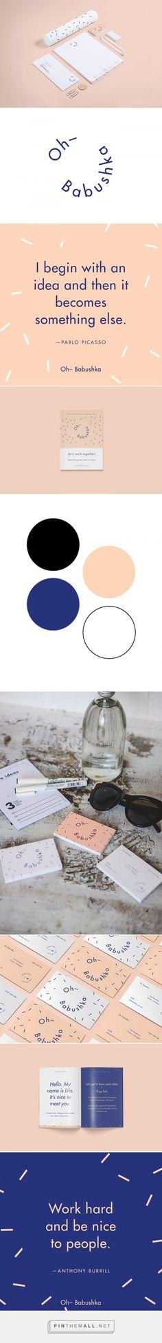 Oh Babushka Designer Branding by Lila Theodoros | Fivestar Branding Agency – Design and Branding Agency & Curated Inspiration Gallery