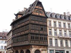 Casa Kammerzell, Estrasburgo, La Alsacia, Francia.