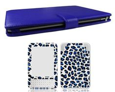 """Bundle Monster Kindle 3/Kindle Keyboard Synthetic Leather Case Cover Jacket + Skin Art Decal Sticker + Screen Protector Ebook Accessories Combo - Fits Kindle 3 (aka Kindle Keyboard) Device ONLY (Released August 2010) by Bundle Monster. $16.99. This monster bundle deal includes: (1) Synthetic Leather Case, Color: BLUE, (1) Vinyl Skin (As viewed in the main photo), (1) Screen Protector for the Amazon Kindle 3 also known as the """"Kindle Keyboard"""" ereader. ABOUT THE CASE: An a..."""