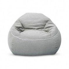 XL Corduroy Bean Bag Chair - Pillowfort™ - Gray  beanbagchair Bean Bag  Chairs Target a5981c1f06685