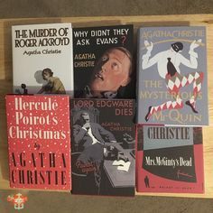 #titlewithaname  #bookishscavengerhunt16 #agathachristie couldn't choose just one so ended up with 6. Photos from my travels