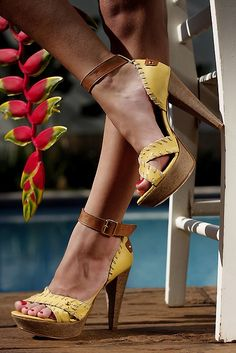 I would have worn these thirty years ago and loved them!  Love ankle straps!