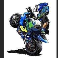 Badass Motorcycle Artwork by Scaronistefano