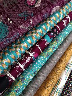 Indelible fabric bundle by Katarina Roccella for Art Gallery Fabrics- Fat Quarter Bundle- 8 total
