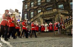 Linlithgow Burgh Halls on Marches Day
