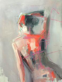 "redlipstickresurrected: "" Teil Duncan (American, b. Columbus, GA, USA) - Neon Twist Paintings: Acrylics, Oil Pastels on Birch Wood Panel """