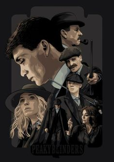 Peaky Blinders Poster, Cillian Murphy Peaky Blinders, Peaky Blinders Merchandise, Intj Characters, Bbc Tv Shows, Alternative Movie Posters, New Poster, Wall Collage, Art Inspo