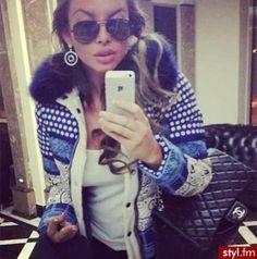 Ooh, i like that jacket. And her shades.. i like her shades.