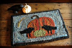 I LOVE this ... definitely need to learn to hook a rug