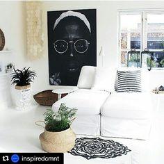 #Repost @inspiredcmnt with @repostapp  Putting a huge portrait to your living room might be a great idea. #inspiredcmnt #interior #interiør #homestyling #interiorinspirasjon #boho  #homedetails #interior #interiør #homestyling #boho  #skandinaviskehjem #myhome #interior123 #Interiorwarrior #Immyandindi #boheme #interior4all #interior_and_living #dream_interiors #interior444 #homeinterior4you #scandicinterior #roomforinspo  #interior9508 #wohnen #inredningsdesign #interior125…