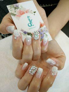 Lovely white flowers for the bride  #nails #nailsg #nailart #nailmax #nailwow #nailporn #nailswag #nailmania #nailqueen #nailsalon #nailtrend #nailaddict #naildesign #nailstagram #nailsingapore #igsg #igers #igdaily #instapic #instadiary #instanails #dollhousesg #dollhousenails #manicure #gel #gelish #gelnails #bridal