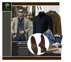 """""""Paul Parkman - Men's Luxury Fashion"""" by monmondefou ❤ liked on Polyvore featuring J.Crew, Citizens of Humanity and Kjøre Project"""