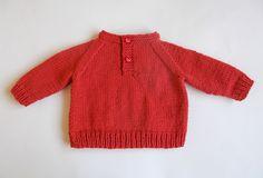Ravelry: RUBEN Baby Boy Sweater pattern by marianna mel
