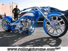 Custom American Chopper - http://www.only4realmen.com/bikes/custom-american-chopper/