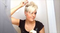This is seriously one of the best vids to show the different ways to style a short pixie cut. I'm so glad I watched it. It gives me the confidence to try a differnt style for my pixie