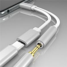 Data Cables Consumer Electronics Expressive Usb-c To 3.5 Aux Audio Cable 2in1 Usb Type C To 3.5mm Jack Audio Splitter Usb C Earphone Cable Charging Adapter For Xiaomi 6